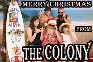 Merry Christmas from the Colony